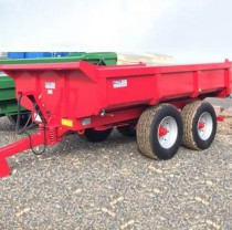 GP12 Dump Trailer Red