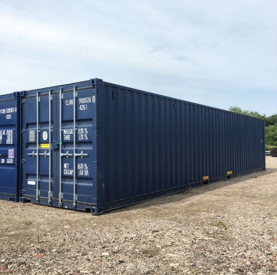 40x8FT Blue Storage Container