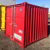 8FT Red Storage Container
