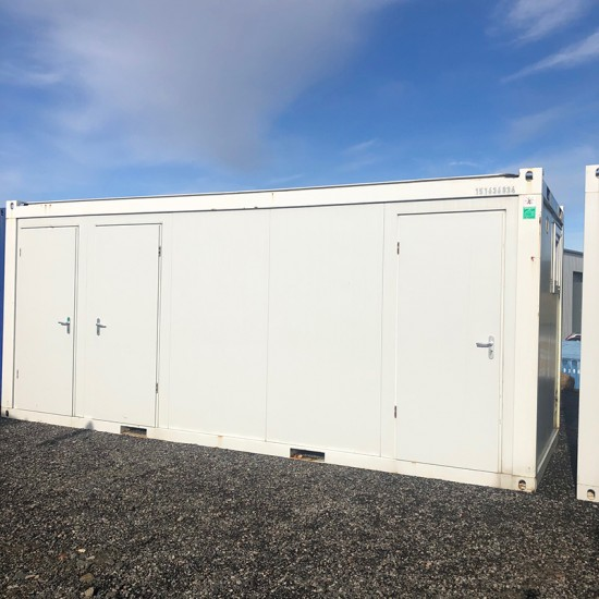 20ft x 8ft Sanitary Cabin with Shower
