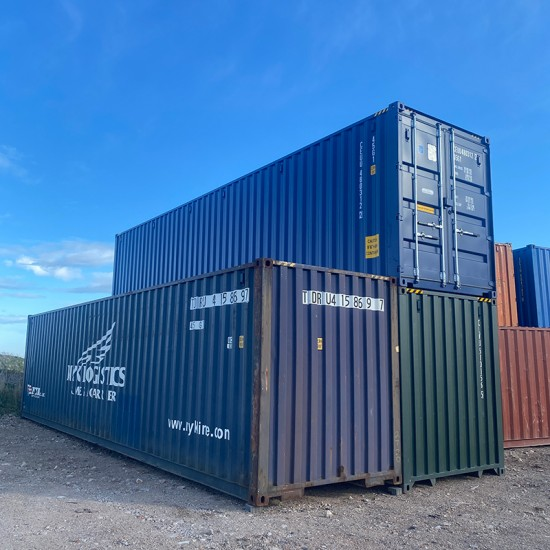 New and used 40ft Hi-Cube Shipping Containers