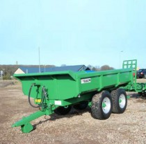 GP12 Dump Trailer Green