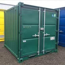 8FT Green Storage Container