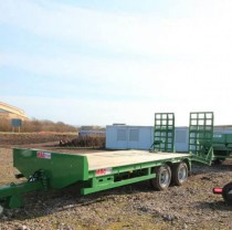Tandem Low Loader Green
