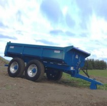 GP12 Multi Purpose Dump Trailer Blue