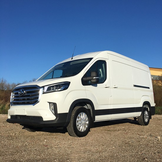 Maxus Deliver9 2.0 Lux LWB High Roof RWD 163ps in Blanc White